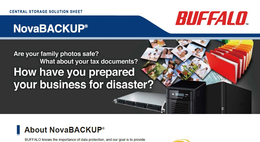 Reliable backup solutions for business and home